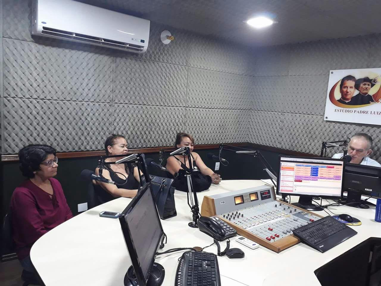 Lúcia Maciel, Socorro Luna e Vera Soares, em entrevista ao Jornal da Tarde no último sábado, 24. Foto: Redes Sociais
