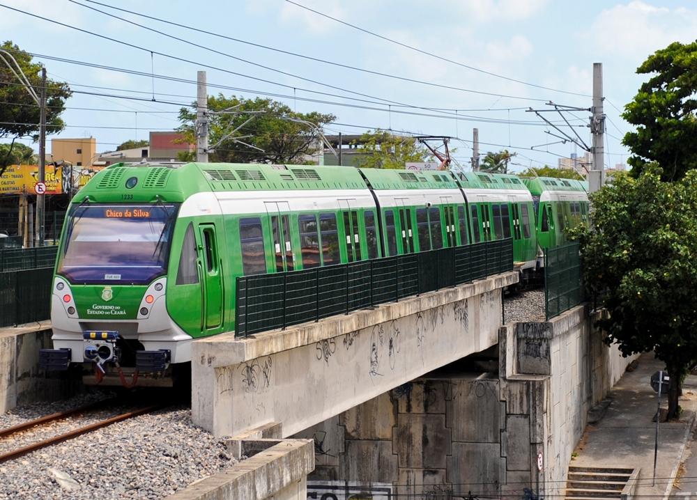 673 milhões serão utilizado pelo Governo do Estado para dar andamento às obras da linha leste do metrô de Fortaleza. Foto: Divulgação / Deyvson Teixeira