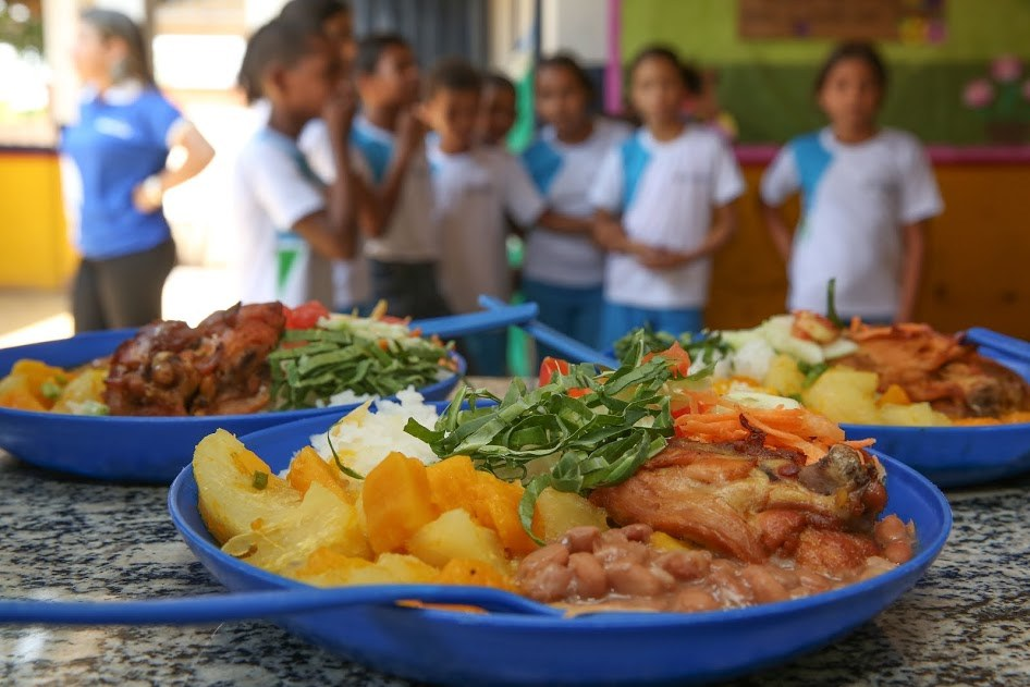 Merenda escolar de Barbalha agora será fornecida por agricultores do município. Foto: reprodução